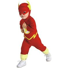 Rubies Costume Co, Inc.- -The Flash DC Comics Baby Infant Toddler Boys Superhero Halloween Costume $24.69