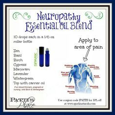 Image result for young living essential oils for neuropathy