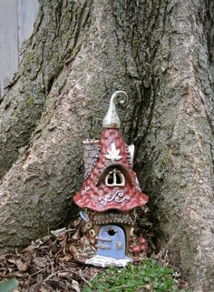 Gnome Home Lena the Lighthearted by ClaySoul on Etsy, $145.00