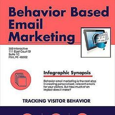 Behavioral based email marketing Source: business2community.com #behavior #email #marketing #communication #consumer #strategies #content #business #engagement #relevant #conversion #goal #digital #plan #personalization #keyword #targeted #connection #collaboration #community #discussion #conversion #competition #