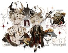 adopt auction : componist [closed] by nemcrsd on DeviantArt Character Concept, Character Art, Concept Art, Anime Chibi, Anime Art, Complex Art, Pleasure To Meet You, Character Design Inspiration, Fantasy Characters
