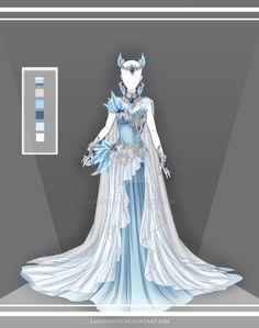 Kyla's ice demon armor