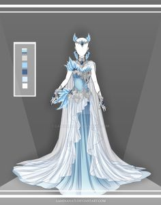 Kyla's ice demon armor