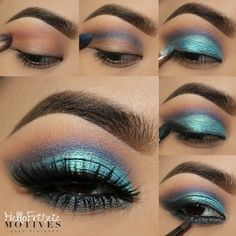 Motives by Loren Ridinger is a trusted name in makeup, skin care, and body care. Shop securely online for your favorite cosmetics and beauty products. Eye Makeup Designs, Eye Makeup Art, Blue Makeup, Mac Makeup, Makeup For Brown Eyes, Eyeshadow Makeup, Beauty Makeup, Blue Eyeshadow, Prom Makeup