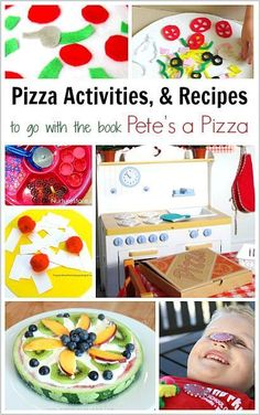 15 Pizza Crafts and Activities to Go with the Children's Book, Pete's a Pizza