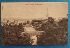 STENGEL Postcard POSTED 1911 JUBILEE BRIDGE COCKERMOUTH CUMBERLAND in Collectables, Postcards, Topographical: British | eBay