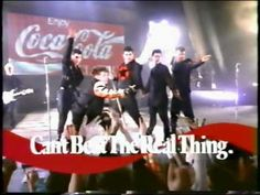 Coca Cola Classic - New Kids On The Block. Haha. I remember this!