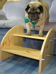 Wooden Pet Stairs от Europug на Etsy