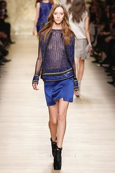 Skirts are in...Paco Rabanne