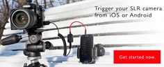 Creative ways of triggering your camera - Triggertrap