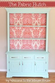 Welcome to the Mouse House: Removable Fabric Wallpaper: A Tutorial