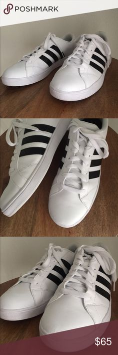 5145b6f30a9c8 Adidas sneakers Great condition. No major stains. Mens size 8 I looked it up