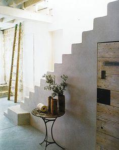 bel escalier béton comme chez nous !