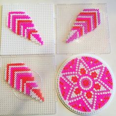Dreamcatcher hama beads by hamakarma