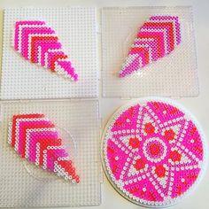 Dreamcatcher hama beads by hamakarma