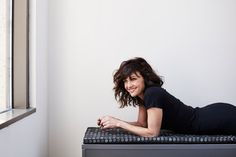 """The actress Carla Gugino dishes on her role in the new Showtime series """"Roadies,"""" what it's like traveling on a tour bus and her road trip essentials. Beautiful Eyes, Gorgeous Women, Carla Gugino, Silk Spectre, Showtime Series, Female Portrait, Girl Crushes, American Actress, Role Models"""