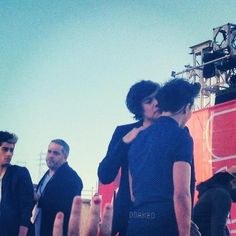 harry you aren't even talking you're just smelling him i