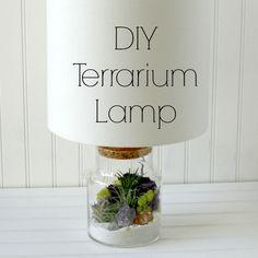 Lámparas DIY www.manualidadesytendencias.com #lámaparas #diy #decoración