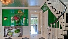 green. lacquer. walls. die.