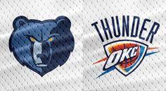 NBA Preseasons and Regular Seasons Memphis Grizzlies vs Oklahoma City Thunder October Thunder Nba, Oklahoma City Thunder, Memphis Grizzlies, Replay, October, Seasons, Sports, Hs Sports, Seasons Of The Year