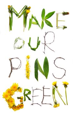 """Make our pins green"" by Carolina Beiertz. ""I love #Pinterest, but I wish it was powered by renewable energy. The data centers that store all our videos, pictures, statuses and tweets use more energy than all the world's planes combined. The good news is that some companies like Facebook and Google have already committed to clean data centers.   Support the campaign, to get Twitter and Pinterest to do the same"" http://www.greenpeace.org/usa/clickclean  #ClickClean #Greenpeace #clickclean"
