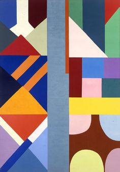 Shirley Jaffe (Pt.2) Inspiration Colourbox.