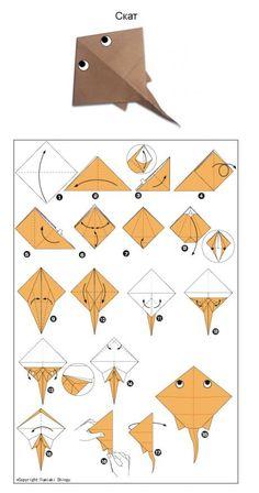 Origami Ball, Design Origami, Instruções Origami, Origami And Kirigami, Origami Fish, Origami Butterfly, Useful Origami, Paper Crafts Origami, Paper Crafting