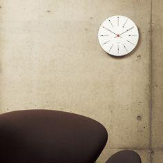 ARNE JACOBSEN Wall Clock Bankers 210mm