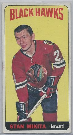 1964/65 Topps Stan Mikita SP HOF # 31  Chicago Black Hawks EX #ChicagoBlackhawks