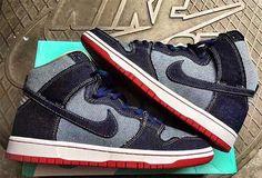 "EffortlesslyFly.com - Kicks x Clothes x Photos x FLY SH*T!: First Look: Nike SB Dunk High ""Denim"""