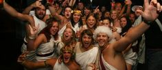 Toga - 31 Top Fancy Dress Ideas For Students - http://universitycompare.com/fun/top-best-cheap-fancy-dress-ideas-for-students-2014/