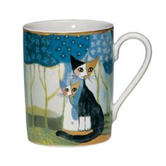 goebel+cat+mugs | LUCA E LUCIANA Rosina Wachtmeister Cat Mug by Goebel