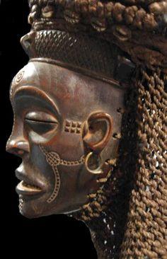 Tchokwe (Chokwe) Pwo Mask