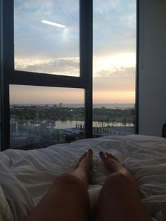 Its nice to wake up & you will see this kind of scenery. (: