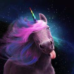 Sassy Unicorn by Jessica LeClerc ;p