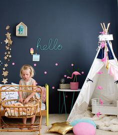 cae6136d88222 Cool ideas using play tents for children - read more on the blog. via