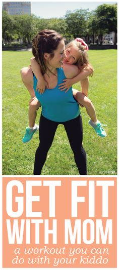 Fit With Mom [VIDEO] This is a full family workout you've gotta try!This is a full family workout you've gotta try! Fit Girl Motivation, Fitness Motivation, Family Fitness, Kids Fitness, Fun Workouts, Workouts With Kids, Fun Exercises, Keep Fit, Exercise For Kids