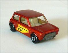 Matchbox Lesney Superfast #29 Racing Mini Cooper