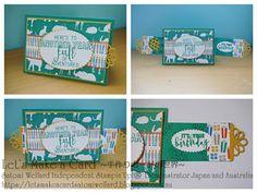 Satomi Wellard-Independent Stampin'Up! Demonstrator Australia and Japan, #stampinup, #su, #satomiwellard, #cardmaking,   #papercrafing ,  #handmade,  #greetingcards,  #stamping, #cardmakingclass, #birthdaycard,  #onlinestore, #craftonlinestore, #birthdaycard, #balloonadventure, #balloon, #pop, #cute…
