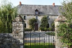 Fortified French Château with outbuildings, stables and paddocks for sale in Normandy Upright Radiators, Electric Radiators, Pedestal Basin, Dining Room Windows, D Day Landings, Loft Stairs, Arched Doors, Gate House, French Property