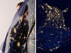 Cities By Night Scarf Collection – Fubiz™