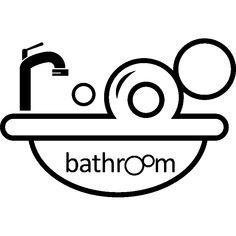 Vinilo Bathroom - Pegatina de Parede Sala de Baño - ambiance-sticker