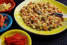 Vegetable Fried Rice- mmmm :)