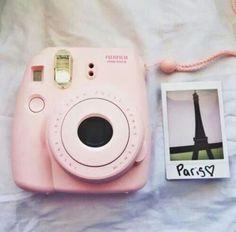 I want the pink Fuji film instax mini 8 Polaroid camera so bad!