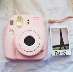 I want the pink Fuji film instax mini 8 Polaroid camera so bad!