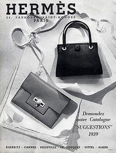 Vintage Hermes ad via Magdorable
