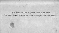 /I've been locked inside your heart-shaped box for weeks/ Nirvana Quotes, Nirvana Lyrics, Soul Music, Music Lyrics, Music Music, Foo Fighters Lyrics, Lyrics Aesthetic, Frases, Amigurumi
