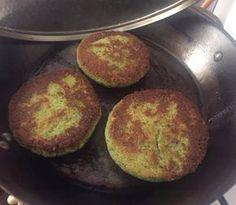Hamburguesas de garbanzo y brócoli Más