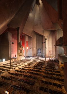 Pilgrimage Church by Gottfried Böhm | Neviges, Velbertm Mettmann, North Rhine-Westphalia, Germany