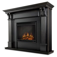 online shopping for Real Flame Ashley Electric Fireplace, Blackwash from top store. See new offer for Real Flame Ashley Electric Fireplace, Blackwash Indoor Electric Fireplace, Electric Fireplace With Mantel, Gel Fireplace, Fireplace Inserts, Indoor Fireplaces, Electric Fireplaces, Black Fireplace Surround, Small Fireplace, Fireplace Hearth